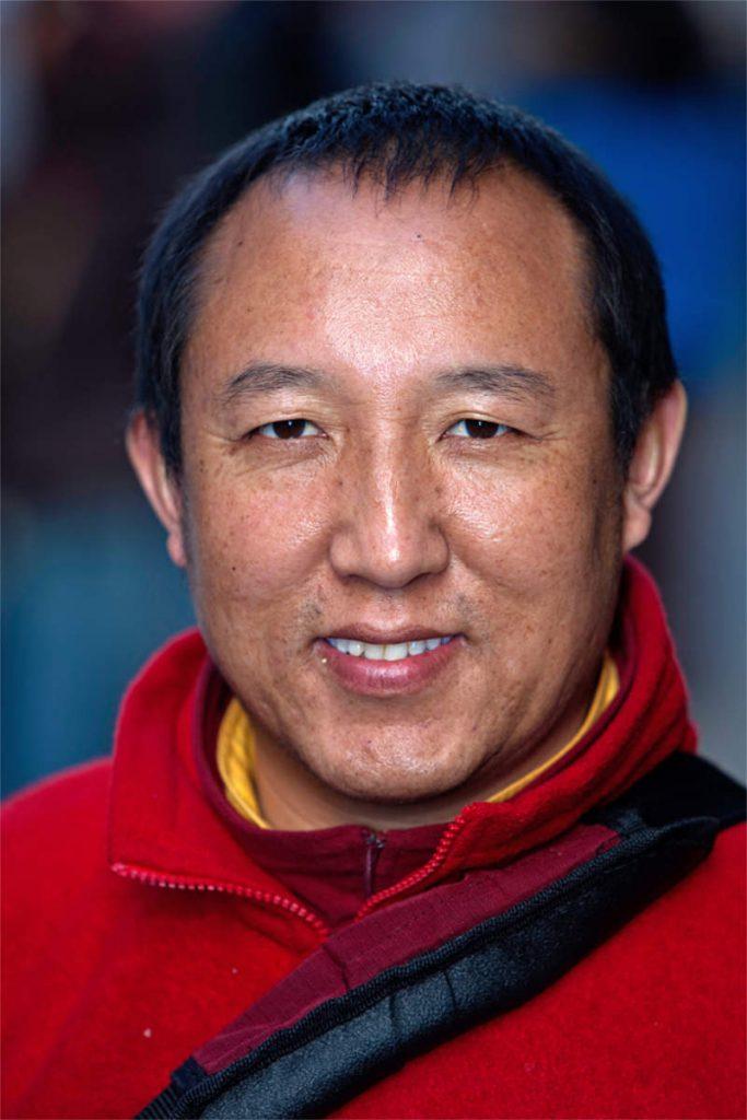 Lama Sangi, 41, budistički redovnik, porijeklom iz Tibeta, Little Italy