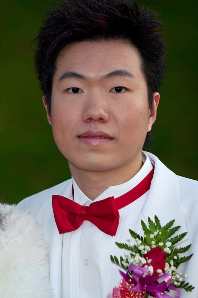 Hui Wu, 28, engineer, of Chinese descent, Central Park