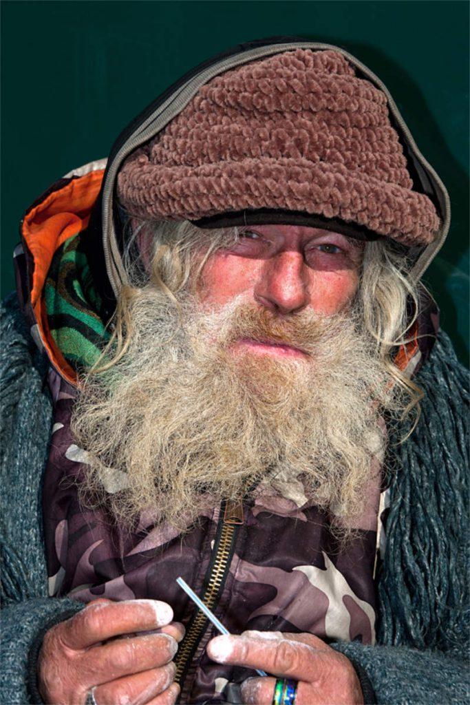 Tom Nelson, 51, beskućnik, porijeklom iz Floride, Central Park