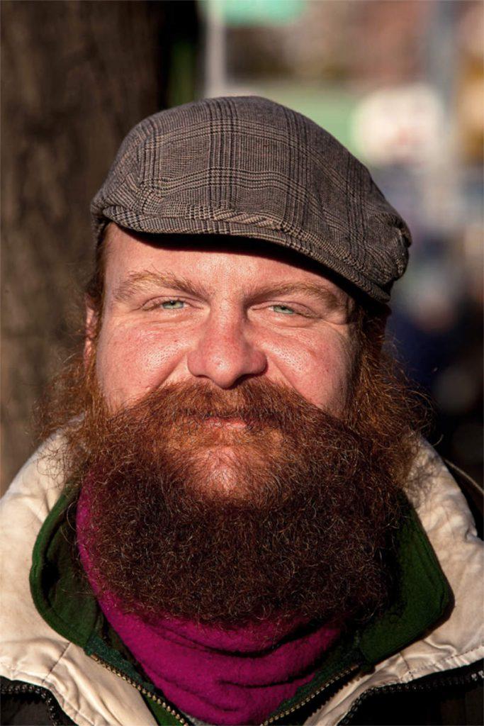 Daniel Mustard, 31, beskućnik, porijeklom iz Irske, St.Mark's Place