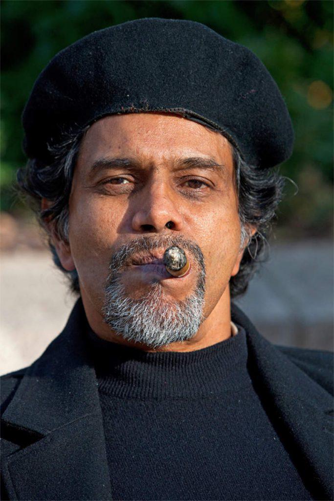 Peter Adin, 61, umirovljeni pjesnik, porijeklom iz Kube, Union Square