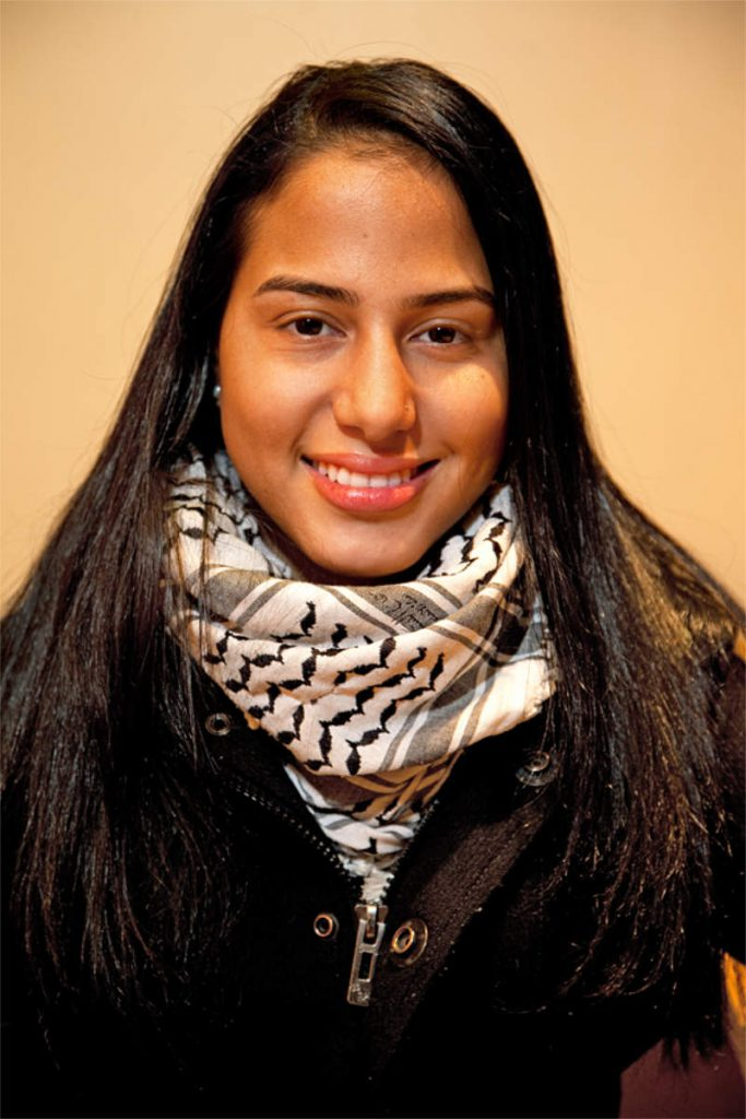Priscila Bertel, 23, učiteljica, porijeklom iz Columbije, Chelsea
