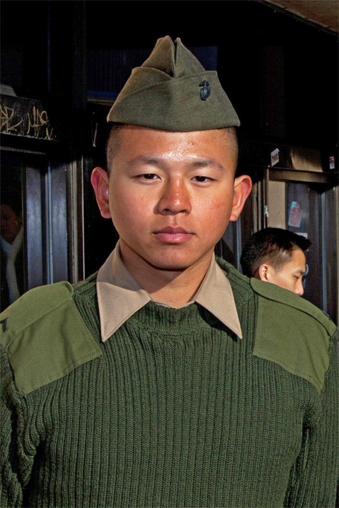 Dit Wang, 19, marinac, porijeklom iz Tajvana, Queens