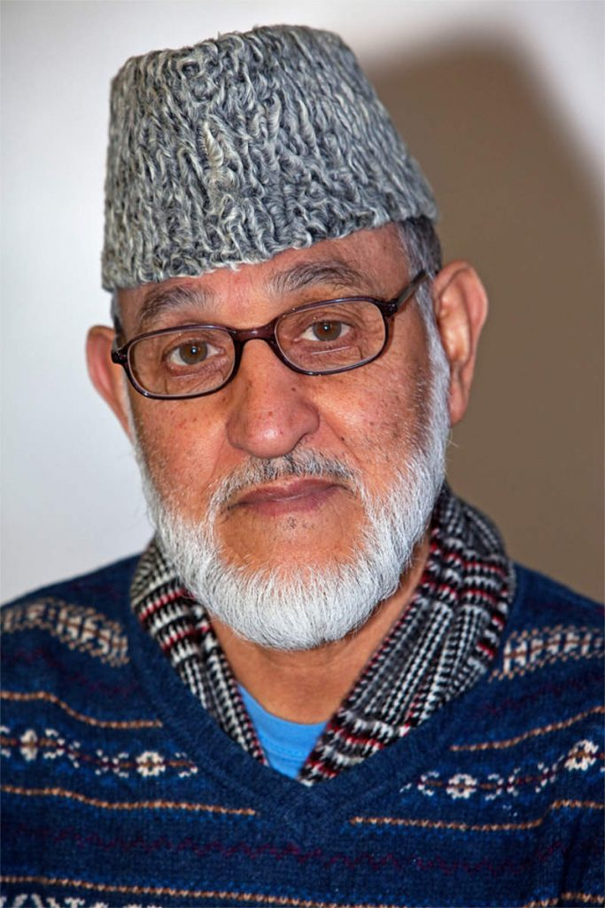 Mohammad Barez, 79, umirovljeni mehanički inženjer, porijeklom iz Afganistana, Queens