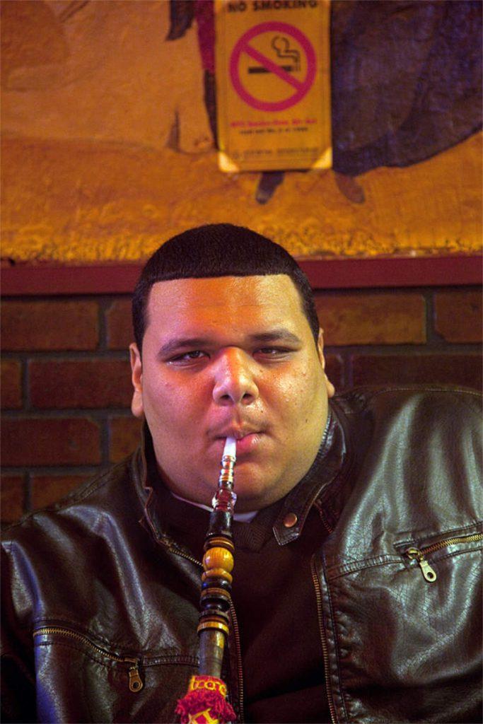 Sammir Al Nawasar, 19, student, porijeklom iz Egipta, Astoria