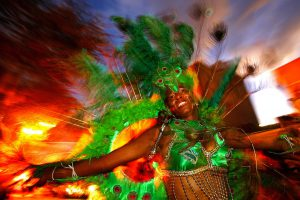 Carnival in Cabo Verde, a small island-state in the Atlantic ocean. This is considered to be the most amazing carnival in Africa.