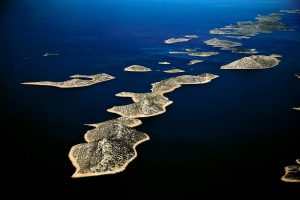 Kornati Islands National Park with 150 islands is the most diverse region in the Mediterranean sea.