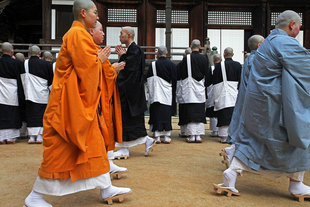 Jedno od polazišnih točki je sveto brdo Koya san, gdje se budističke ceremonije održavaju gotovo svakodnevno.