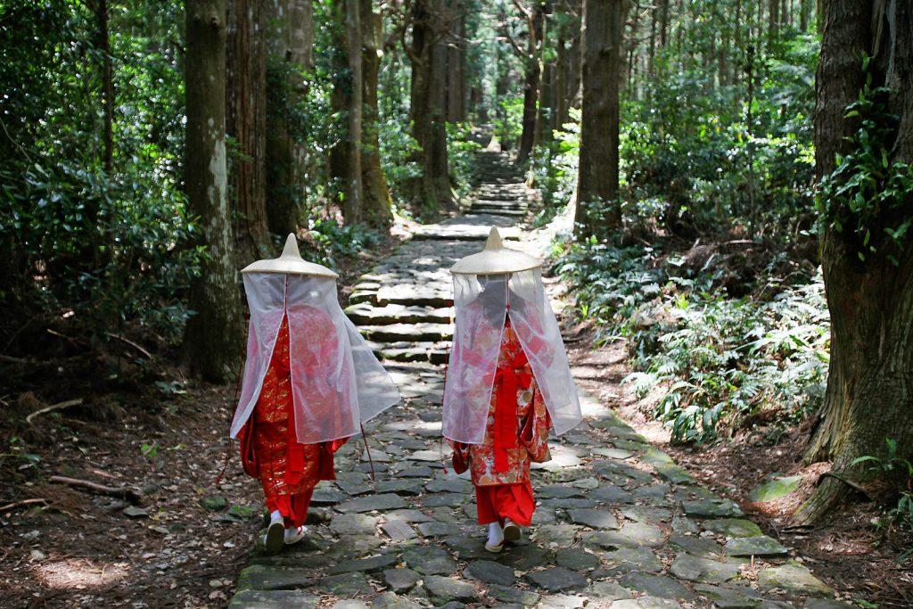 Kohechi - part of the Kumano Kodo routes.