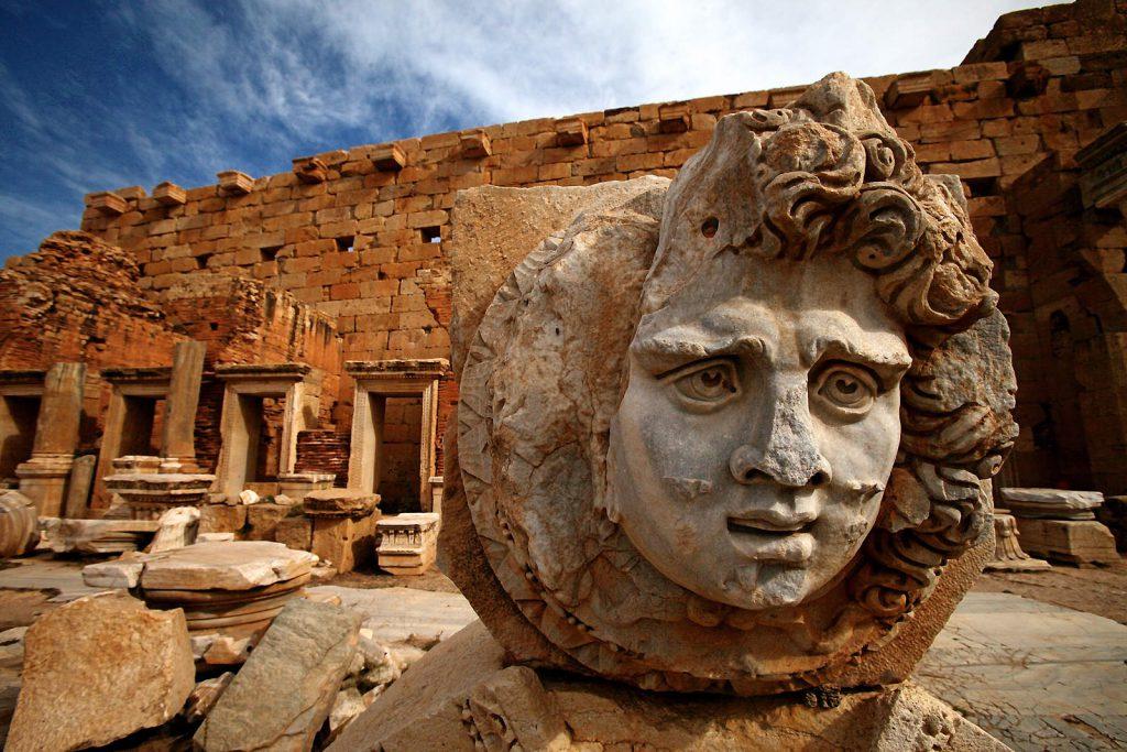 U Libiji se nalaze neki od najbolje sačuvanih drevnih rimskih gradova, poput  Leptis Magne.