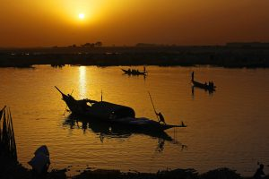 The Niger River is the source of life in West Africa