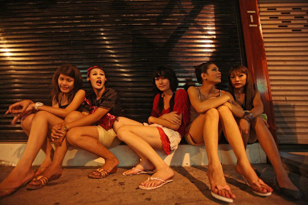 Nove cure na cesti. Trećina Tajlandskih prostitutki su maloljetnici.