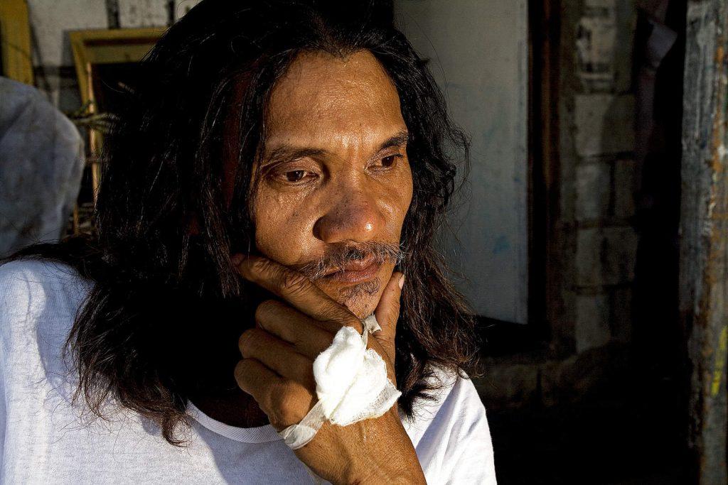 Ruben Enaje isposnik je s najduljim stažem. Pribio se na križ 21. godinu zaredom.