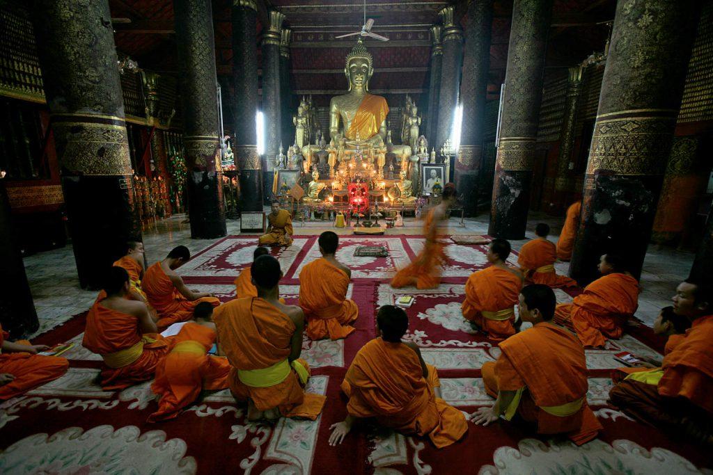 Luang Prabang, nekoć prijestolnica kraljevstva Laos, danas je njegov duhovni centar.