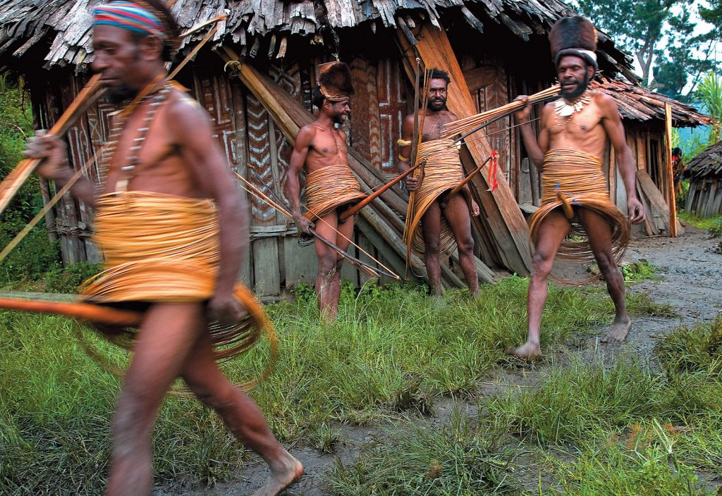 Yali people are one of the most traditional peoples in the mountains of West Papua